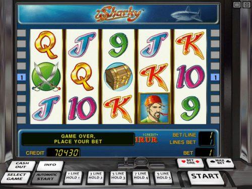 Игровые автоматы Sharky